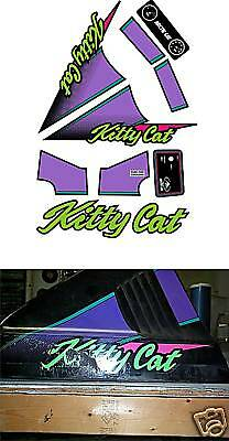 Kitty Cat Decal Set 1993 1994 Arctic Cat Sled Graphics