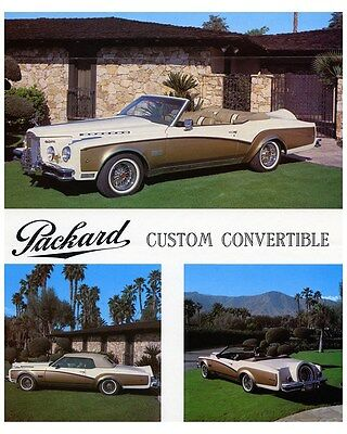 1982 Packard Bayliff Convertible Neo-Classic Photo ca6704