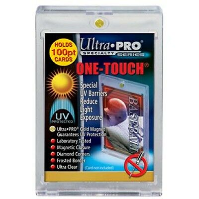 Ultra Pro - One-Touch Speciality Holders - 100PT - Magnetic Resealable Sleeves.
