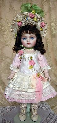 Bru jne 9 porcelain doll Milette size by Emily Hart Grandmaster of Dollmaking