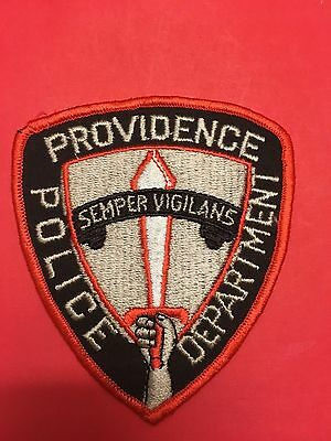 Providence Rhode Island Police  Shoulder  Patch