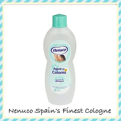 X1 Nenuco Agua De Cologne Postage Included Special Offer Price! 600Ml