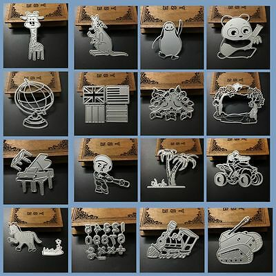 Craft Paper Cards Embossing Stencil Scrapbooking Metal Cutting Dies