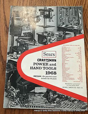 1968 Sears Craftsman Power & Hand Tools Catalog