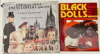 Lot Of 2 Reference Books On Antique German & Black Dolls