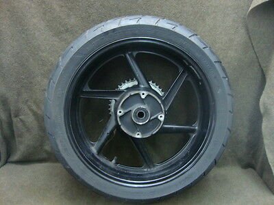 98 Honda Cbr600 Cbr 600 F3 Wheel Rim & Tire, Rear #yj24
