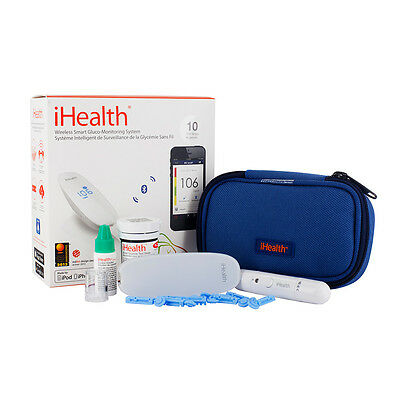 Ihealth Wireless Smart Glucometer With Consumables Kit One Size 0 Bilance