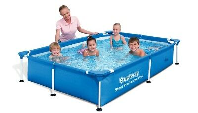 Bestway Splash Jr. Frame Pool 221x150x43cm 56041