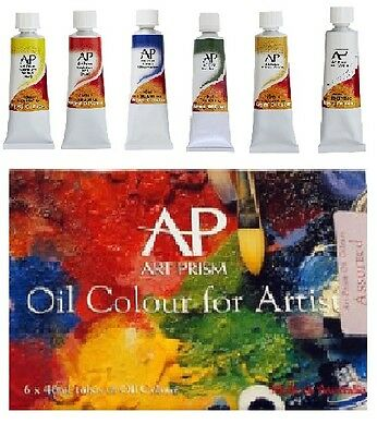 ART SPECTRUM Art Prism Oil Colours - 6 X 40ml