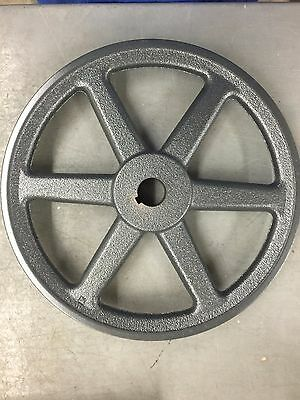 Browning AK104X1 Bushing Bore V-Belt Pulley, 1 Groove, Cast Iron