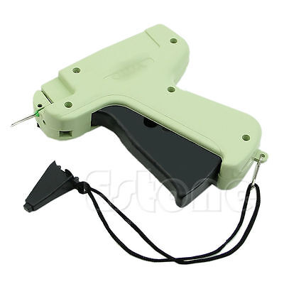 "Regular Clothing Price Lable Tagging Tag tagger Gun With 1000 3"" Barbs+5 Needle"