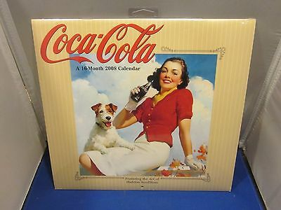 Coca-Cola 2008 A 16-MONTH Calendar FEATURING THE ART OF HADDON SUNDBLOM SEALED