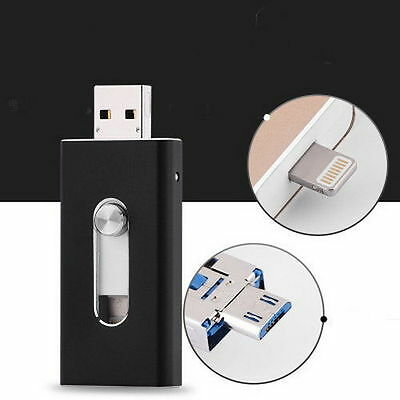 256GB Storage USB i Flash Drive Memory Stick U Disk for iPhone 7 6S iPad Android