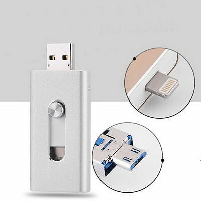 128GB Extra Storage USB i-Flash Drive Memory Stick for iPhone 6 6S iPad Android