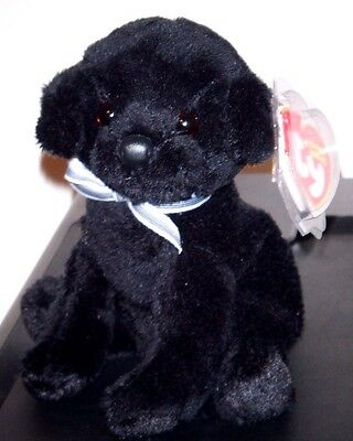 Ty Beanie Baby ~ CHASER the Dog ~ MINT with MINT TAGS ~ RETIRED