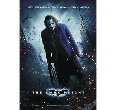 "Batman Poster THE DARK KNIGHT Heath Ledger ""JOKER""  Large Size 68 X 98cm"