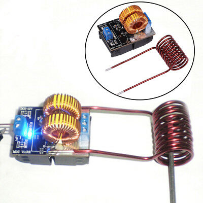 150W ZVS Induction Heating Board High Voltage Generator Heater W/Coil DC 5-15V