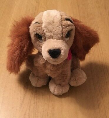 Disney Lady From Lady And The Tramp Plush Toy