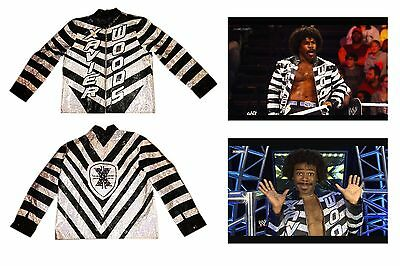 Wwe Xavier Woods The New Day Ring Worn And Hand Signed 2013 Debut Jacket W/ Coa