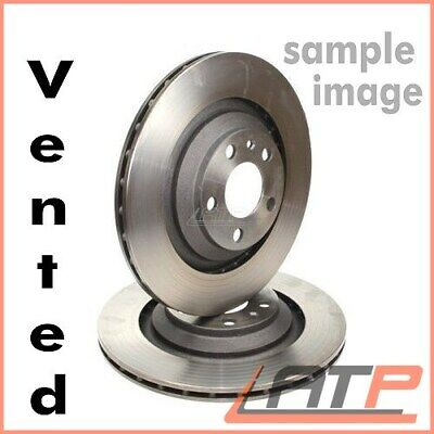 2x BRAKE DISC VENTILATED Ø278 FRONT VOLVO C30 C70 MK 2 II 1.6 - 2.4 FROM 2006