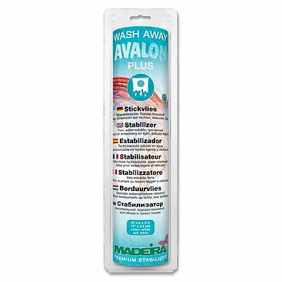Avalon Plus Wash Away Stabilizer 30Cm X 3M  Madeira WATER SOLUBLE