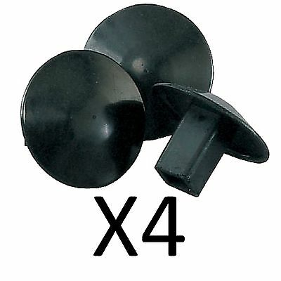 Champion Sports Molded Rubber Base Plugs For Baseball Softball Bases (4-Pack)