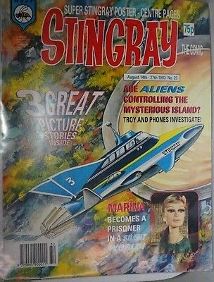 Stingray - The Comic. No 23. August 14th - August 27th 1993. ITC.