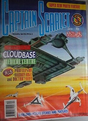 Captain Scarlet - The Comic. No 12. April 1994. ITC.