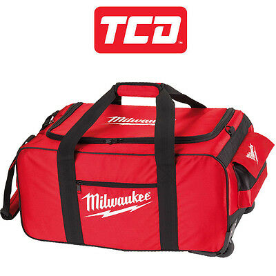 Milwaukee 4931427040 Large Contractor Wheeled Bag M28 L60cm x D33cm x H25cm