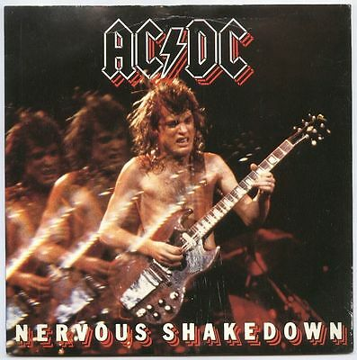 "AC/DC UK 1984 7"" Single NERVOUS SHAKEDOWN"