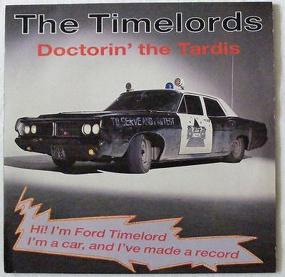 """KLF TIMELORDS UK 1988 12"""" Single DOCTORIN' THE TARDIS"""