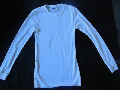 Kathmandu Adult Sz Medium White Polypropylene Thermal Underwear Top