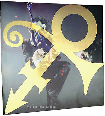 PRINCE ACT 2 Tour PROGRAMME UK Rare Glossy 30 Page Stunning ! SHAPED ! w/ Cards