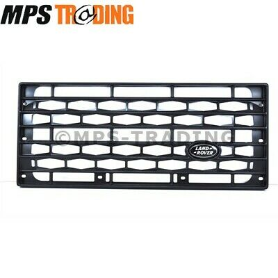 Land Rover Defender Terrafirma Black Matt Front Grille & Badge Tf283 /dag500160