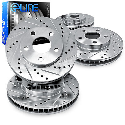 OE Replacement 2011 2012 2013 Chevy Caprice Rotors Ceramic Pads F+R