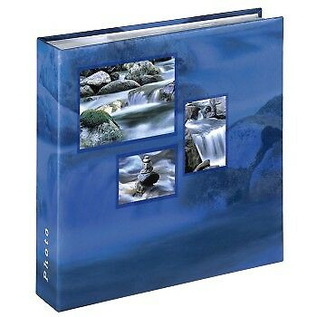 Photo Album 6 x 4 inch / 10 x 15 cm for 200 Photos - Hama Singo Memo, Aqua