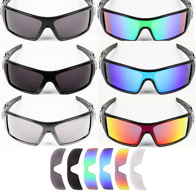 polarized  Replacement Lenses for-Oakley Oil Rig Sunglasses-Optional Colors