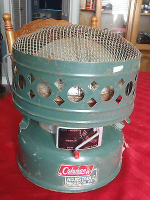 coleman heater catalytic 3000/5000 white gas