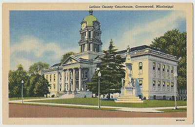 Leflore County Court House, Greenwood, Mississippi