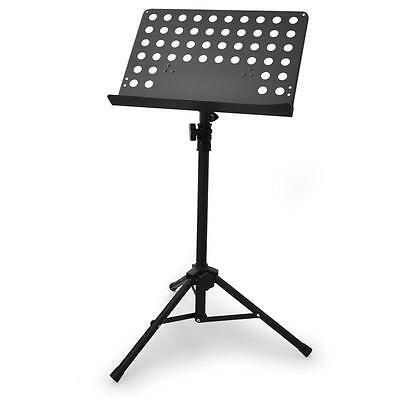 [Reconditionné] Pupitre Orchestre Support Partition Musique Reglable 62-115Cm