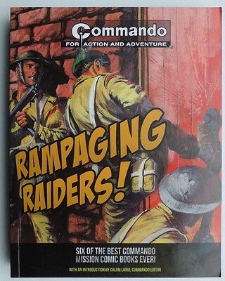 COMMANDO for action and adventure: Rampaging Raiders! six stories in one book.