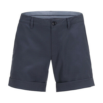 Peak Performance Flattering Fit Golf Shorts with Soft Finish in Navy Blue