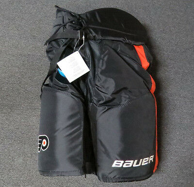 Brand New Bauer Supreme Pro Stock Flyers Hockey Pants Size Medium Ghost Thirds