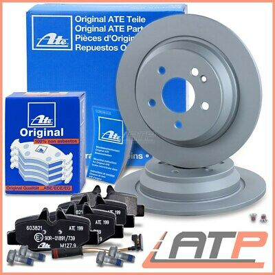 Ate Brake Discs Solid  Ø296 + Set Pads Rear Mercedes Benz Viano W-639 Vito W639