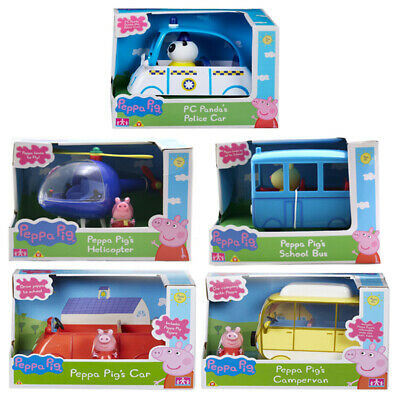 Peppa Pig Vehicle with Figure Choice of Sets NEW (One Supplied)