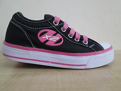 Heelys Jazzy shoes size UK12 black-pink colour