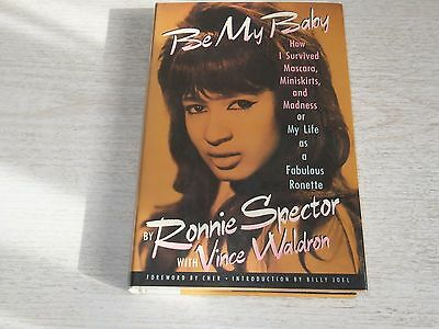 Ronnie Spector  Signed Book