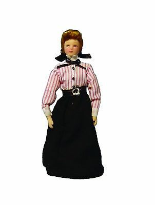 DOLLS  HOUSE 1/12 th SCALE  SHOP ASSISTANT OR GOVERNESS