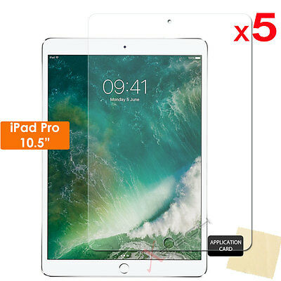 """5x CLEAR Screen Protector Guard Covers for Apple iPad Pro 10.5"""" (10.5 Inch)"""