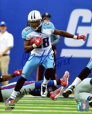 Chris Johnson Reprint Autographed Picture Signed Photo 8X10 Tennessee Titans Rp